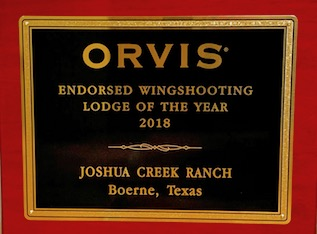Orvis Wingshooting Lodge of the Year