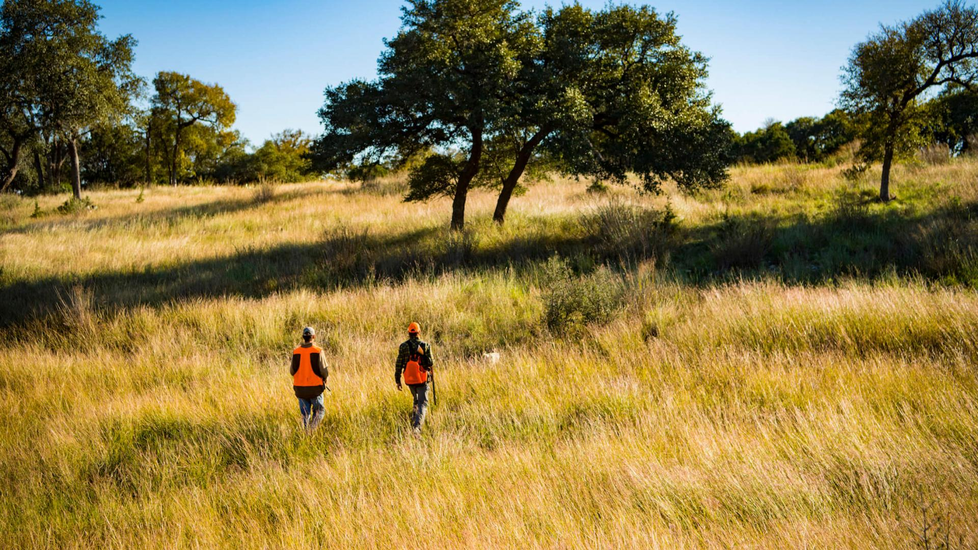Hunting at Joshua Creek Ranch