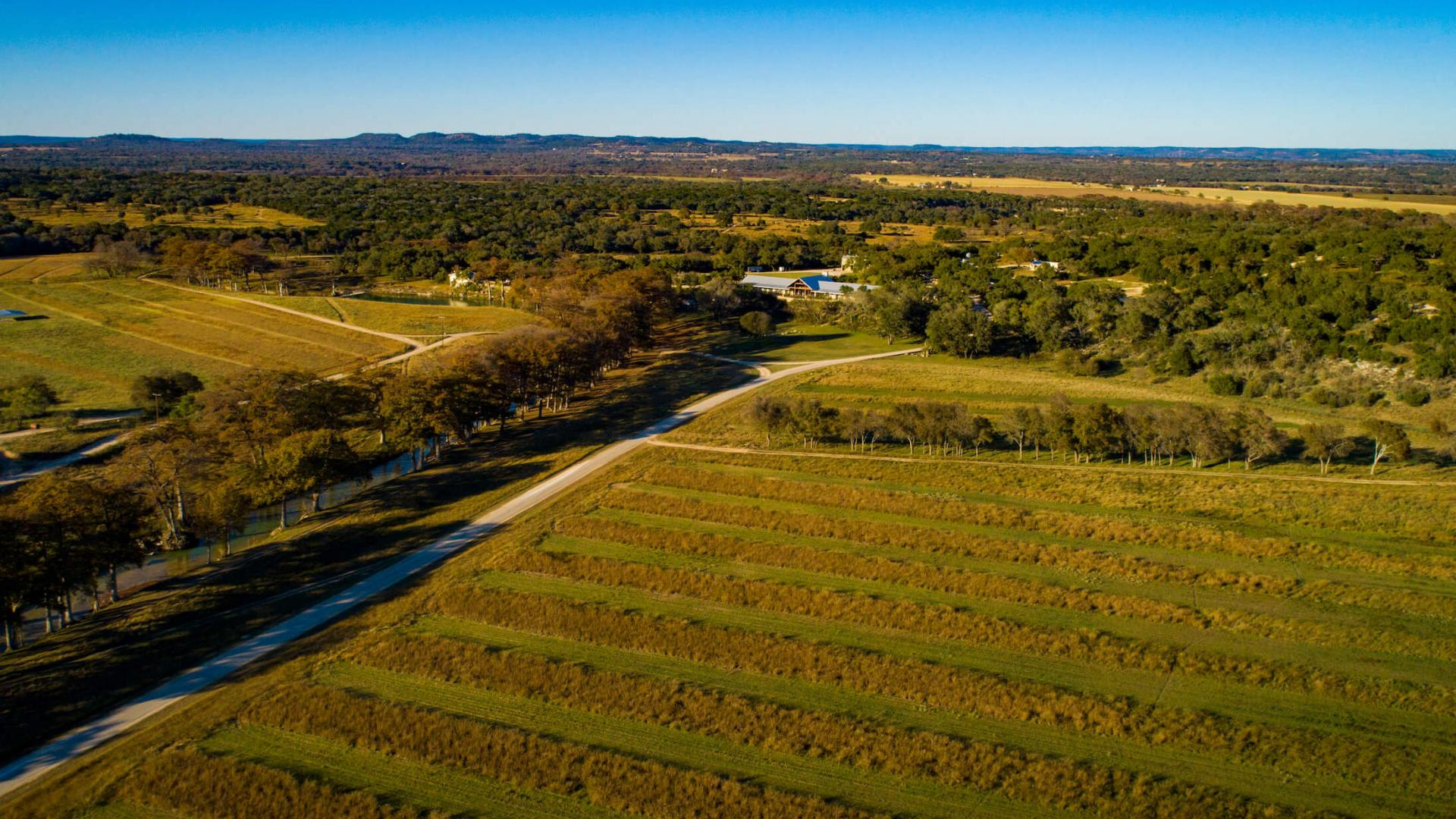 Aerial view of Joshua Creek Ranch